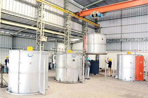Forging Facilities Galaxy Technoforge Pvt Ltd