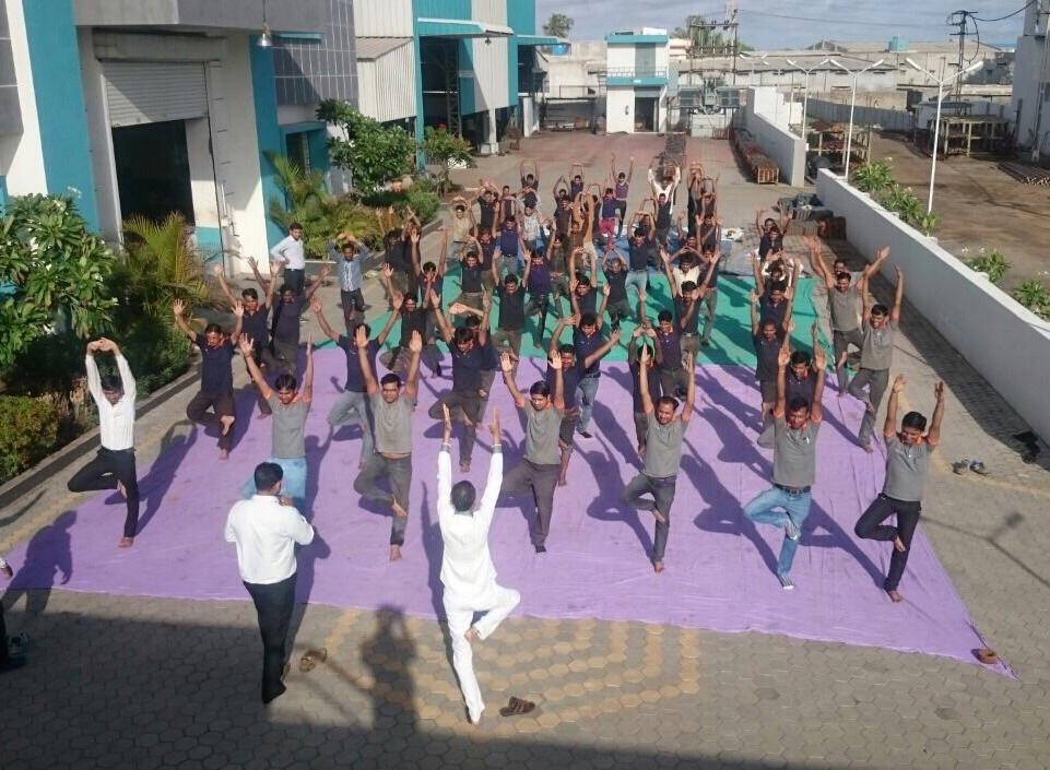 Celebration of Yoga Day By Tilara Parivaar